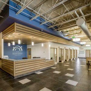 pchc providence community health centers prairie avenue interior design check in