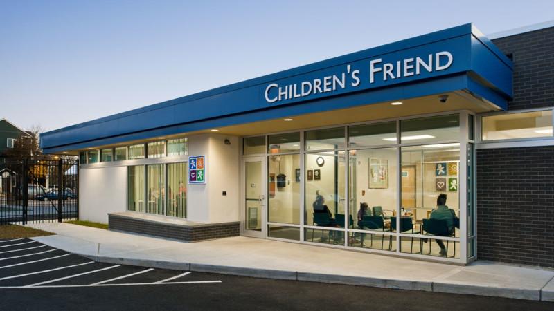 childrens friend friendship center head start school entrance exterior