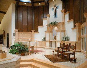 church of the immaculate conception renovated altar