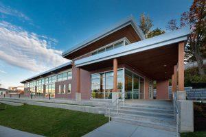 johnson & wales university grace welcome center building exterior