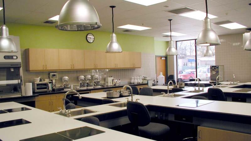 johnson & wales university harborside academic center baking technology classroom lab