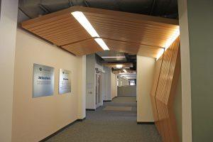 navinet boston healthcare corporate offices lobby interior historic design