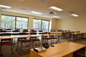 roger williams university downcity providence campus classroom