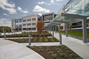 fm global corporate office headquarters exterior entrance